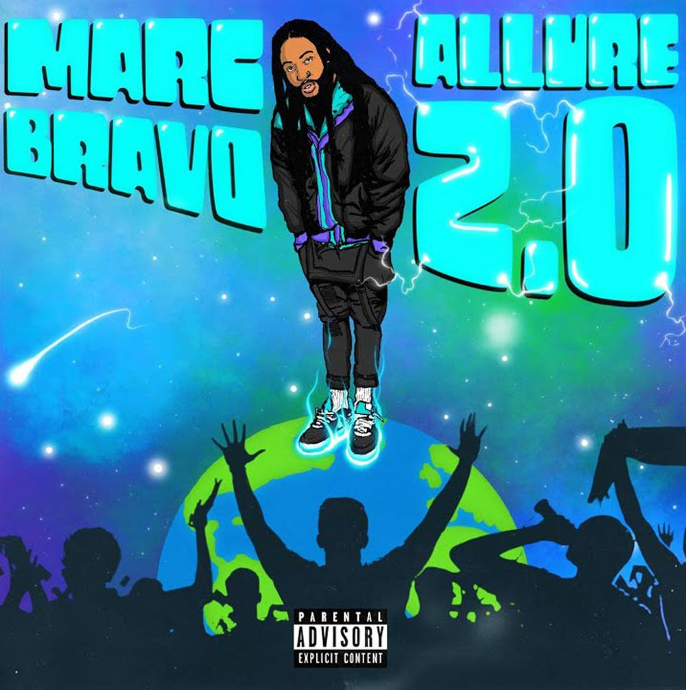 "MARC BRAVO RETURNS TO FORM ON HIS GROOVY NEW ALBUM, ""ALLURE 2.0"""
